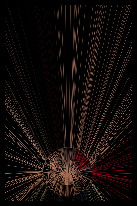 Toby Skinner Generative Art Geoscapes #2